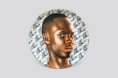 Mame Ngagne (Plate) by Kehinde Wiley