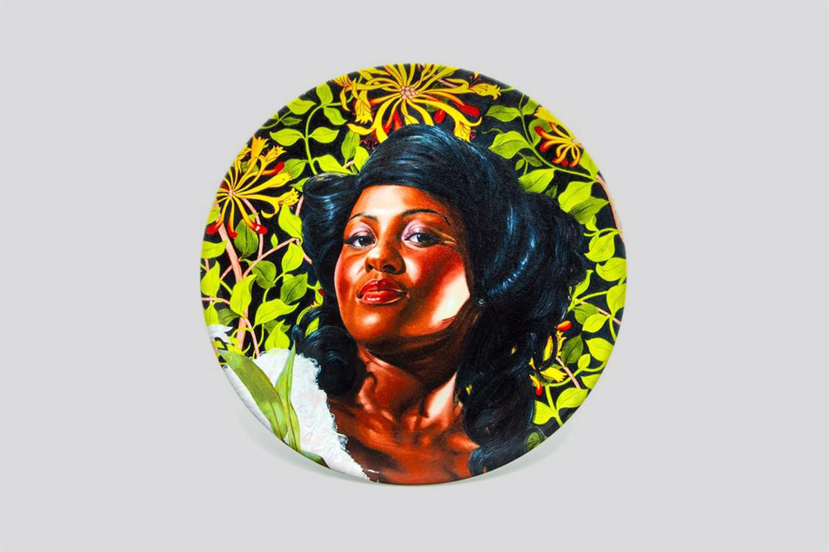 Mary Little, Later Lady Carr (Plate) by Kehinde Wiley