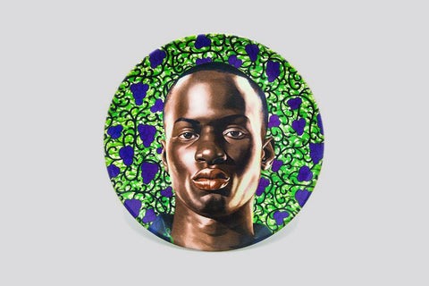 Matar Mbaye II (Plate) by Kehinde Wiley
