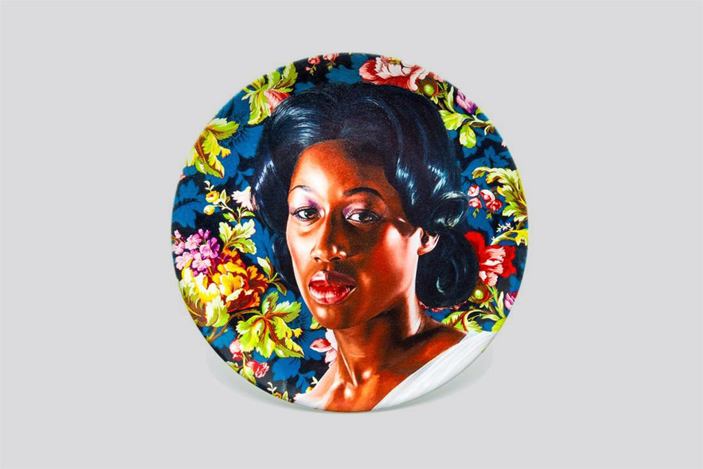 Mrs. Graham (Plate) by Kehinde Wiley