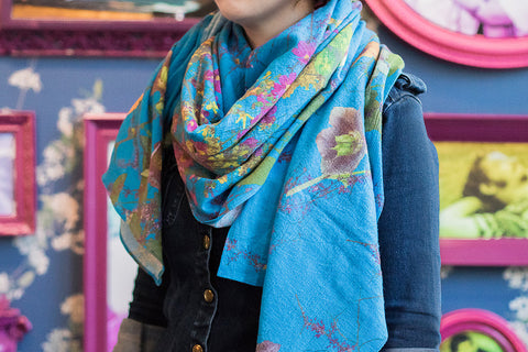 Fallen Fruit Wrap Scarf, All You Need Is Love