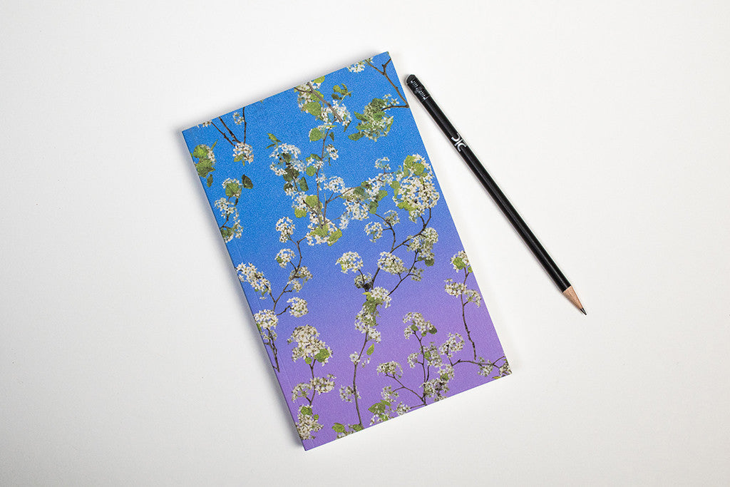 Fallen Fruit Notebook, Pear Blossom