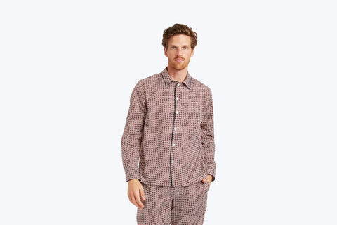 Sleepy Jones Henry Liberty Solar Pajama Shirt