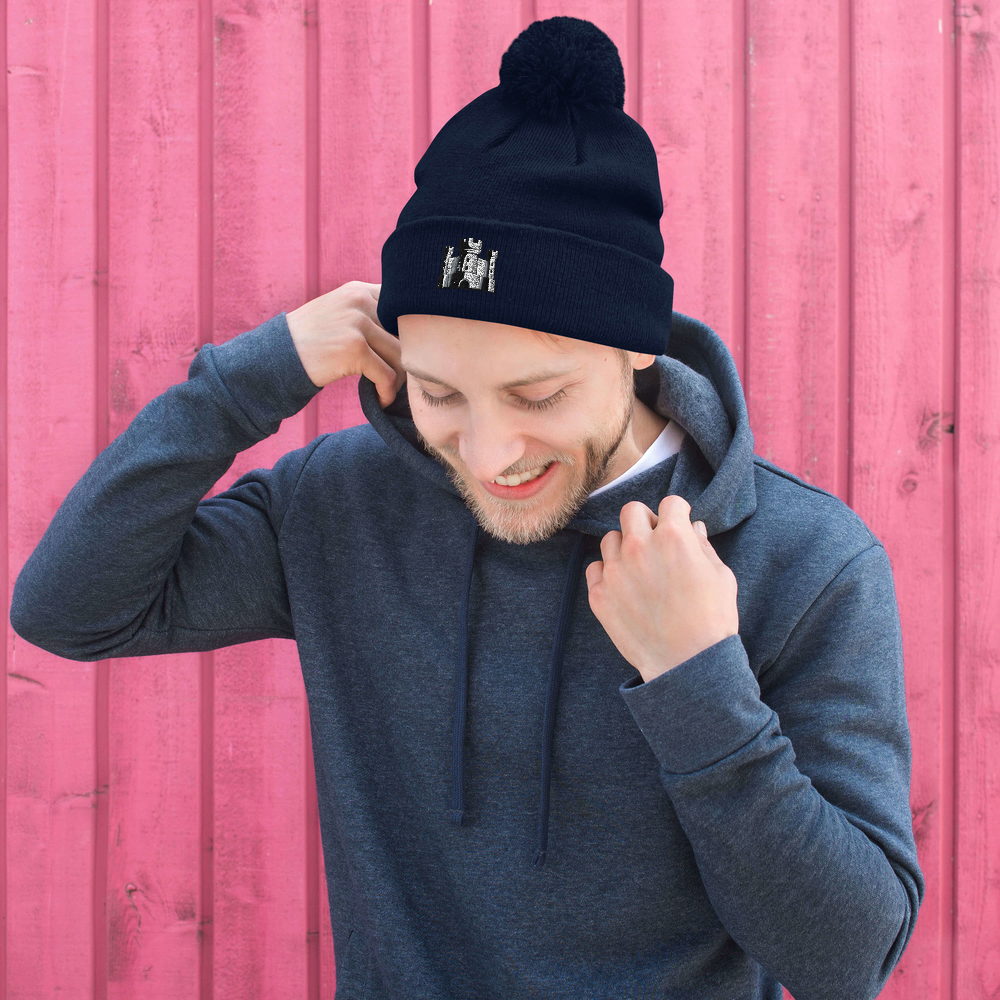 Pom-Pom Beanie - The 6th Castle