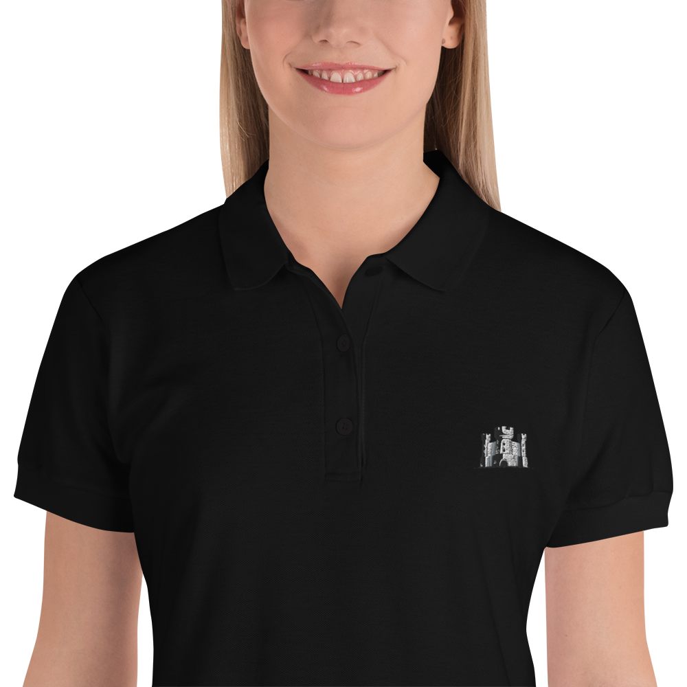 Embroidered Women's Polo Shirt - The 6th Castle