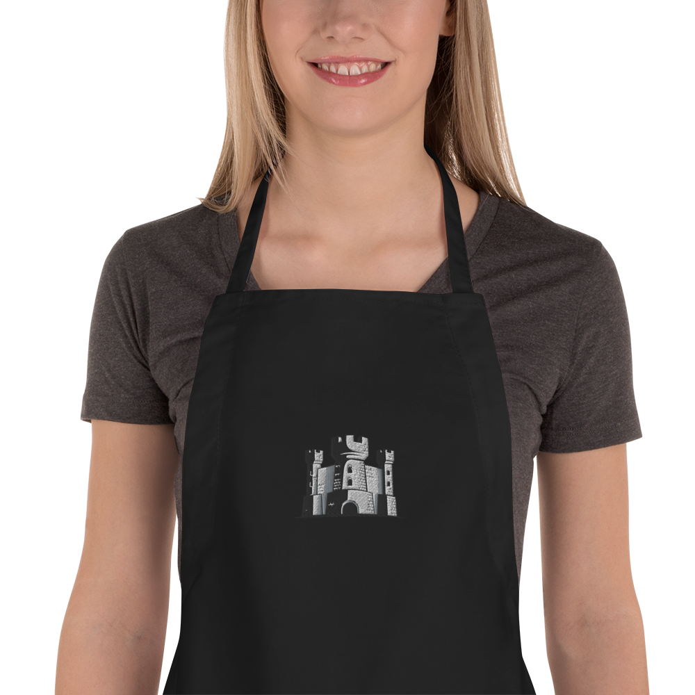 Embroidered Apron - The 6th Castle