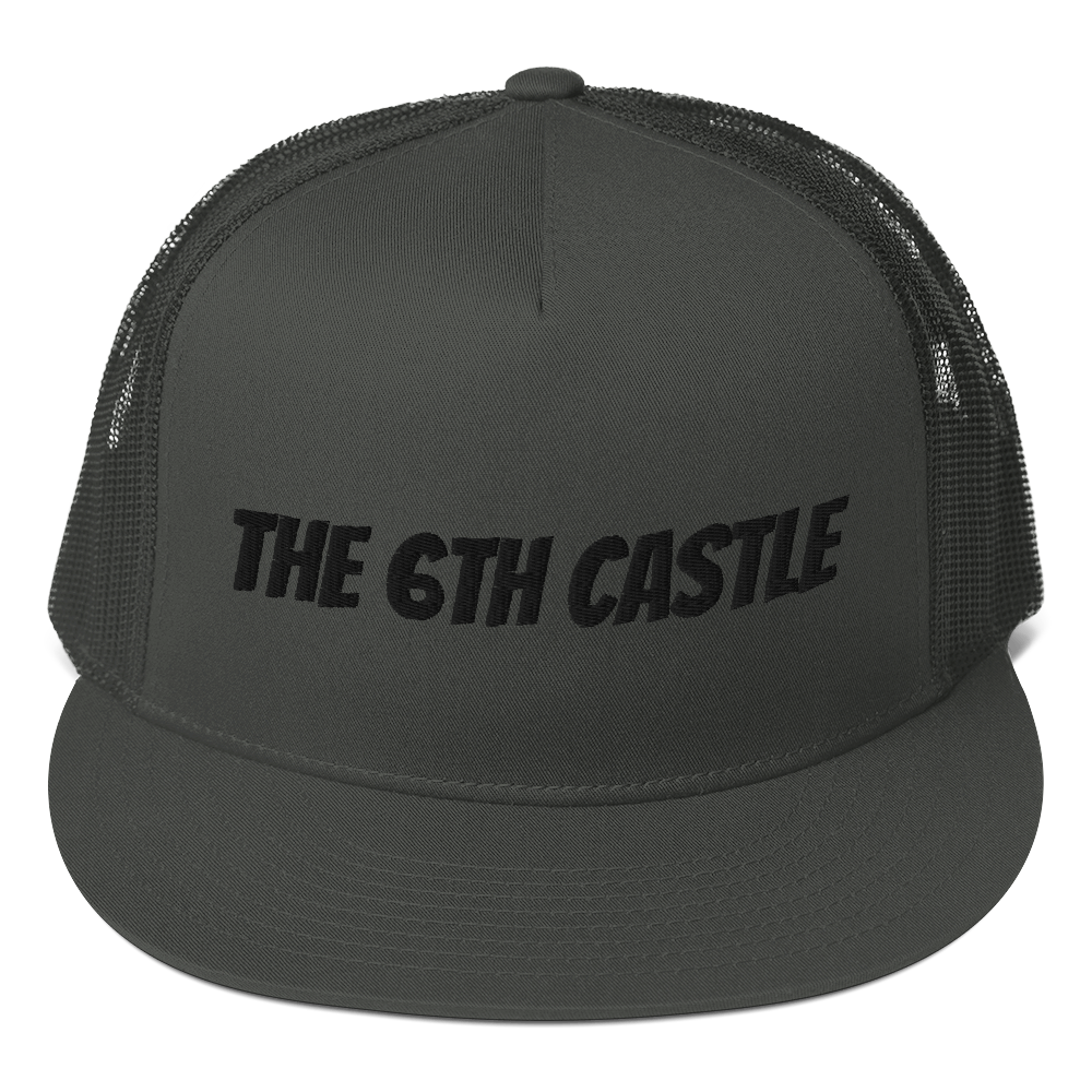 Mesh Back Snapback - The 6th Castle