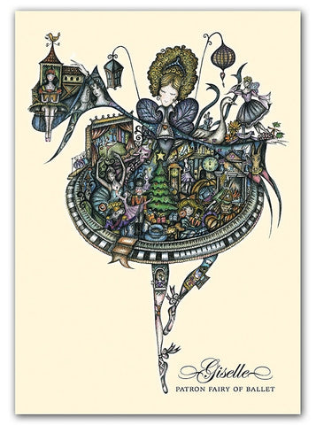 Box of greeting cards—Giselle, Patron Fairy of Ballet
