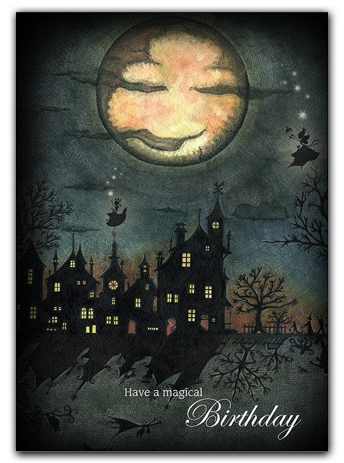 Box of greeting cards—Fairy Night | Happy Birthday