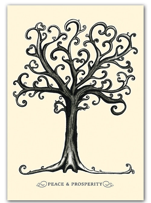 Box of greeting cards—The Magic Tree, Peace & Prosperity