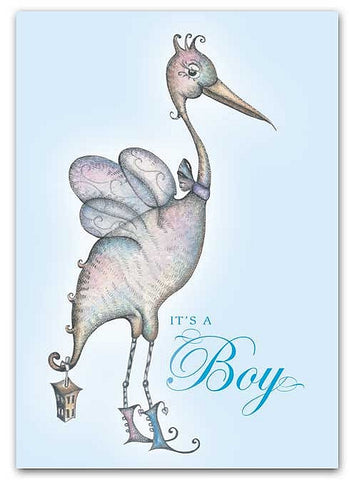 Box of greeting cards—The Fairy Stork | It's a Boy