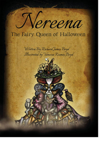 Artbook—Nereena, the Fairy Queen of Halloween