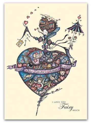 Box of greeting cards—Eva, Patron Fairy of Love