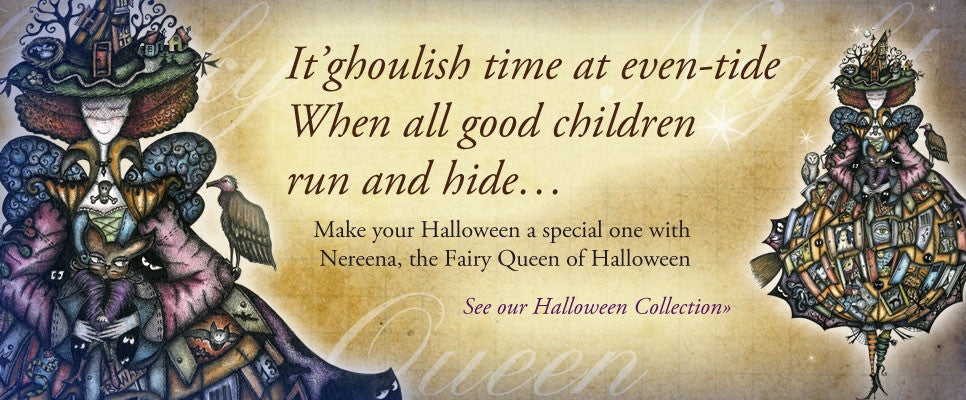 Nereena, the Fairy Queen of Halloween
