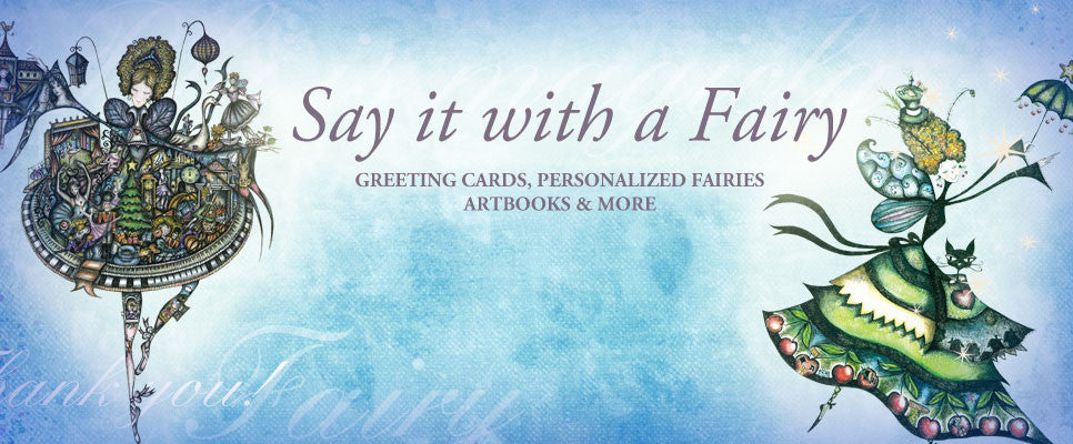 FantaFairies greeting cards, books and prints