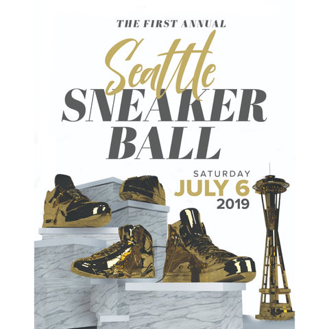 Seattle Sneaker Ball infographic