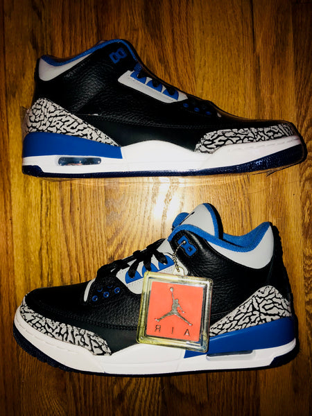 Nike Air Jordan Sport Blue Retro 3
