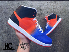 "Jordan Retro 1 Fade - #Viking ""Sneaker Warz / Horizon Custom's collaboration"""