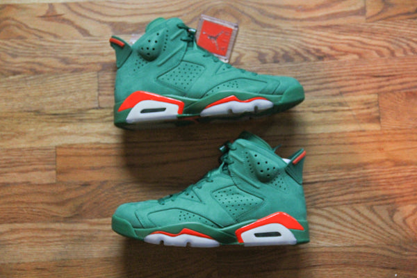 Nike Air Jordan Retro 6 (Gatorade 6) Pine Green