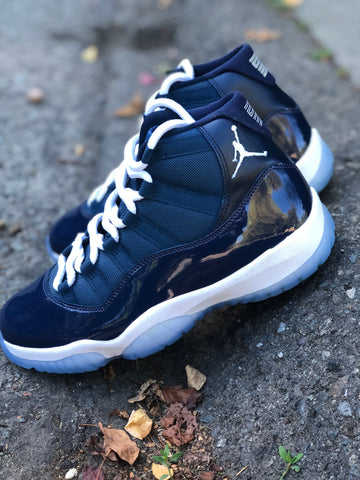 Nike Air Jordan Retro 11 Dead Stock Custom (Midnight Navy)