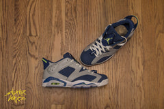 Sneaker Warz X SNKRVILLAIN Collaboration - Nike Air Jordan Retro 6 Low Cool Grey - 1 of 6
