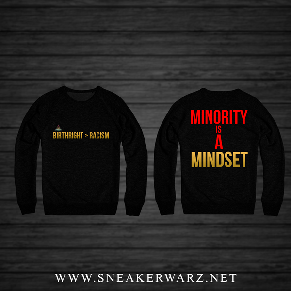 Birthright > Racism (BLACK CREWNECK)