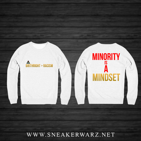 Birthright > Racism (WHITE CREWNECK)