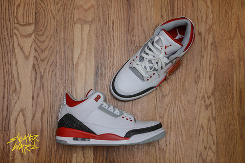 Nike Air Jordan Retro 3 Fire Red