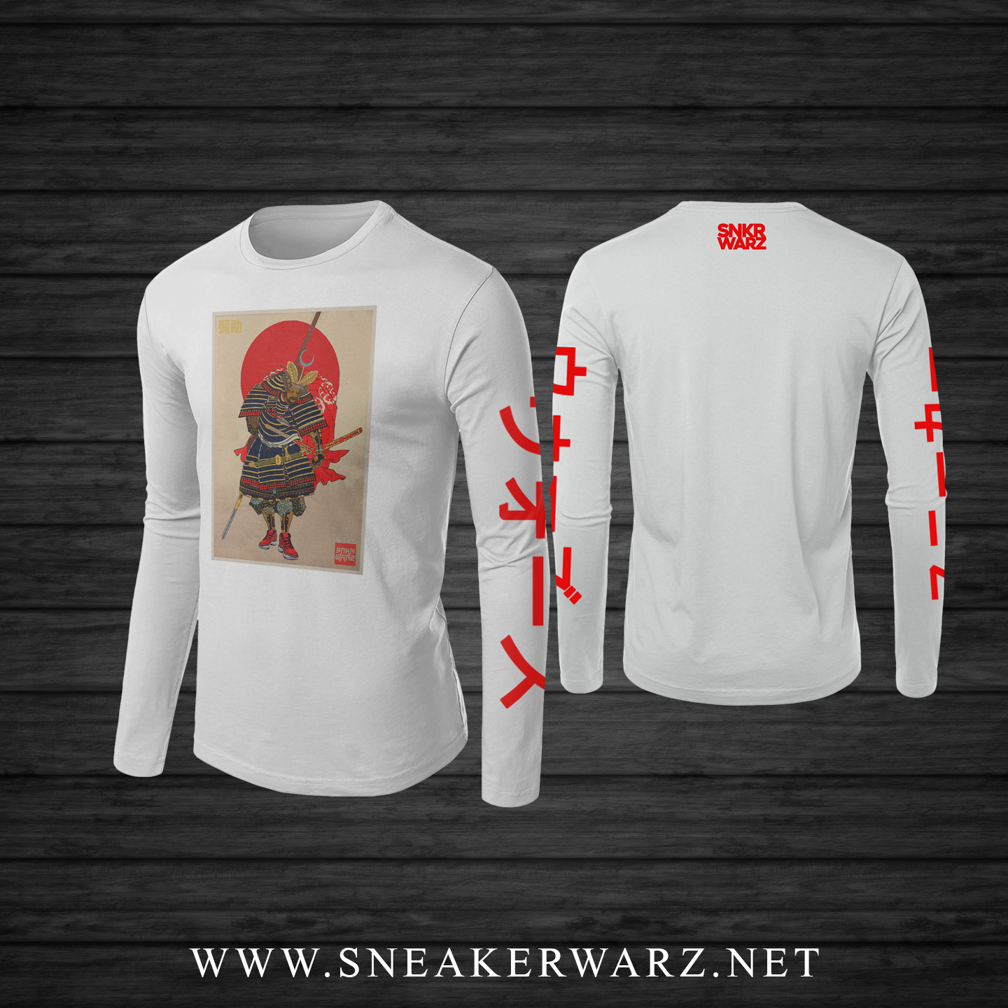 Red Samurai (Long Sleeve)
