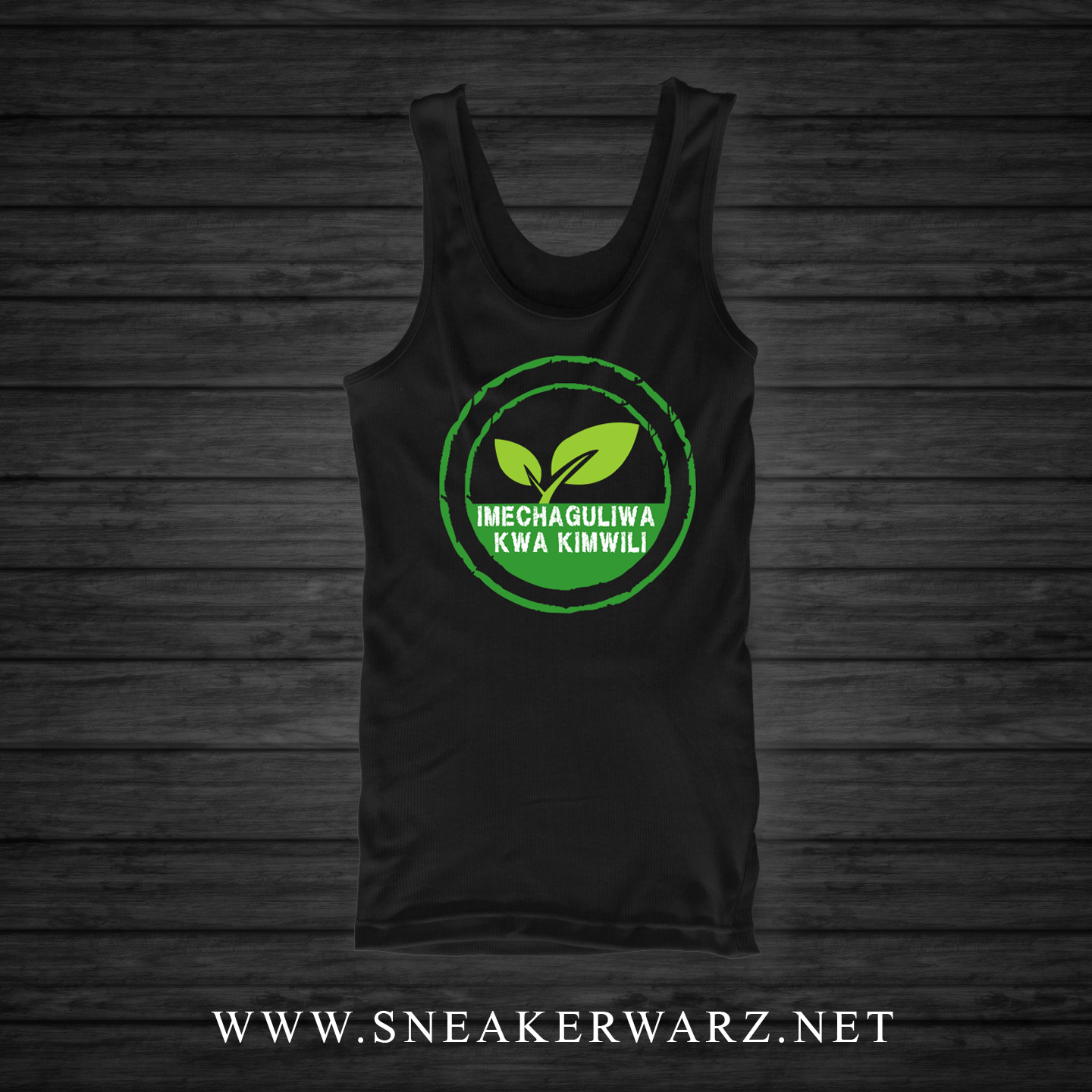 Organically Chosen (Tank Top) Swahili
