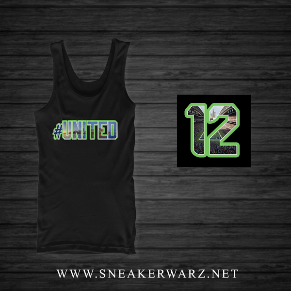 #United / Tank Top-Black