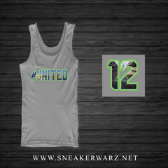 #United / Tank Top-Grey
