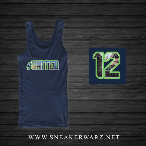 #United / Tank Top-Navy