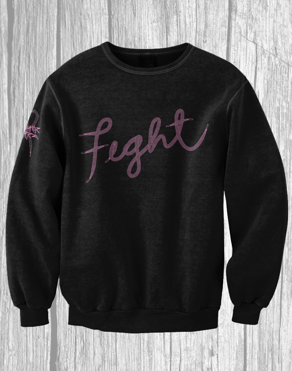 Fight / Crewneck / Breast Cancer