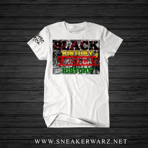 pretty nice 1b010 919d5 ... Black History Month (T-Shirt) ...