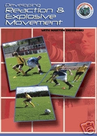 Developing Reaction and Explosive Movement Soccer DVD