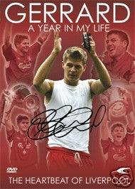 Gerrard: A Year in My Life Soccer DVD