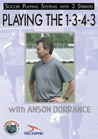 Playing the 1-3-4-3 Soccer DVD