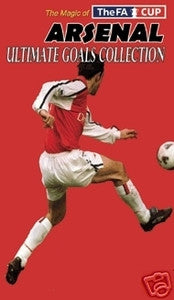 Arsenal Ultimate FA Cup Goals Collection Soccer DVD