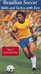 Brazilian Soccer with Zico - Positional Play DVD
