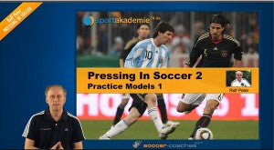 Online Seminar: Pressing in Soccer Part 2 - Practice Models 1