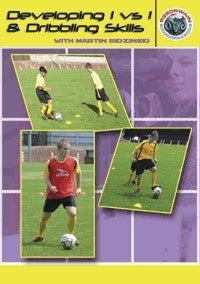 Developing 1v1 and Dribbling Skills Soccer DVD