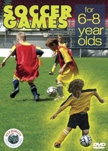 Soccer Games for 6-8 Year Olds DVD