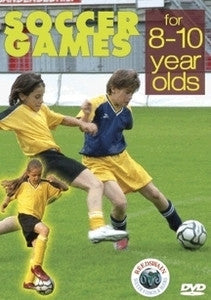 Soccer Games for 8-10 Year Olds DVD