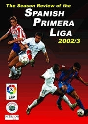 Season Review Spanish Primera Liga 02/03 Soccer DVD