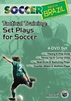 Soccer Made in Brazil - Set Plays for Soccer DVD