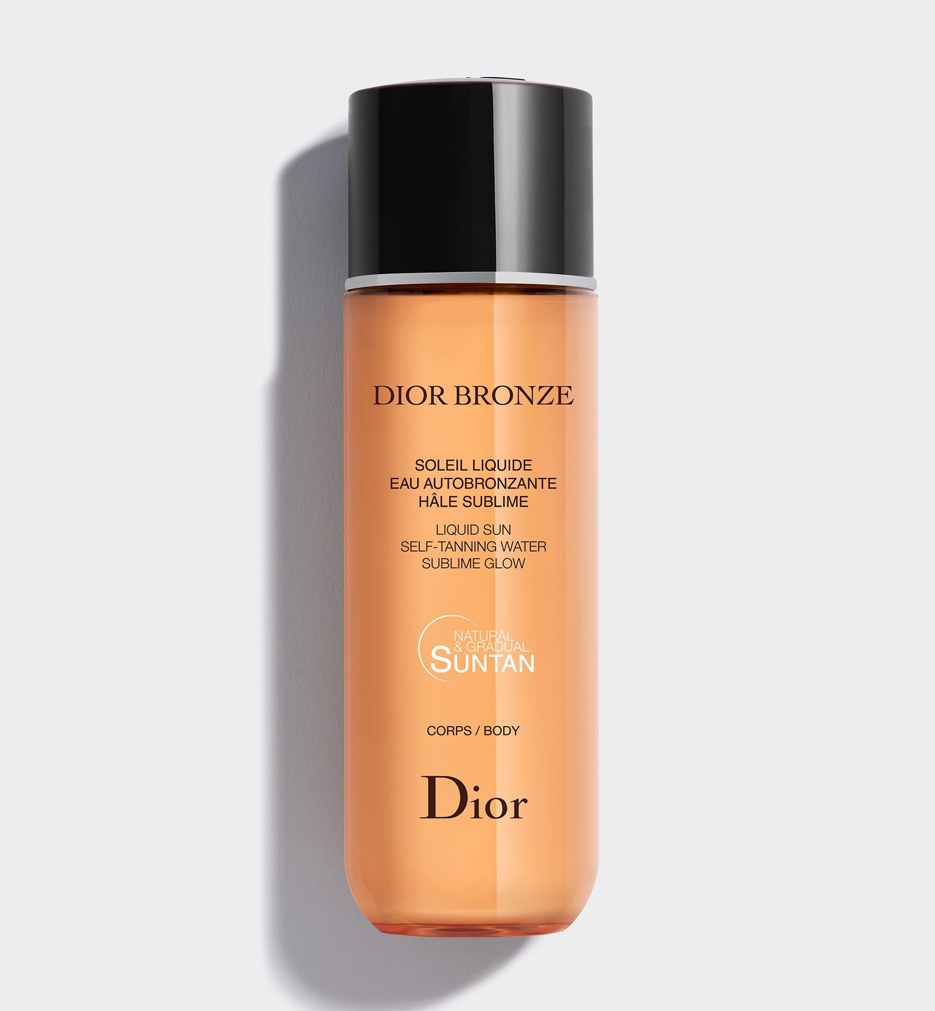 DIOR BRONZE LIQUID SUN - SELF-TANNING WATER - SUBLIME GLOW