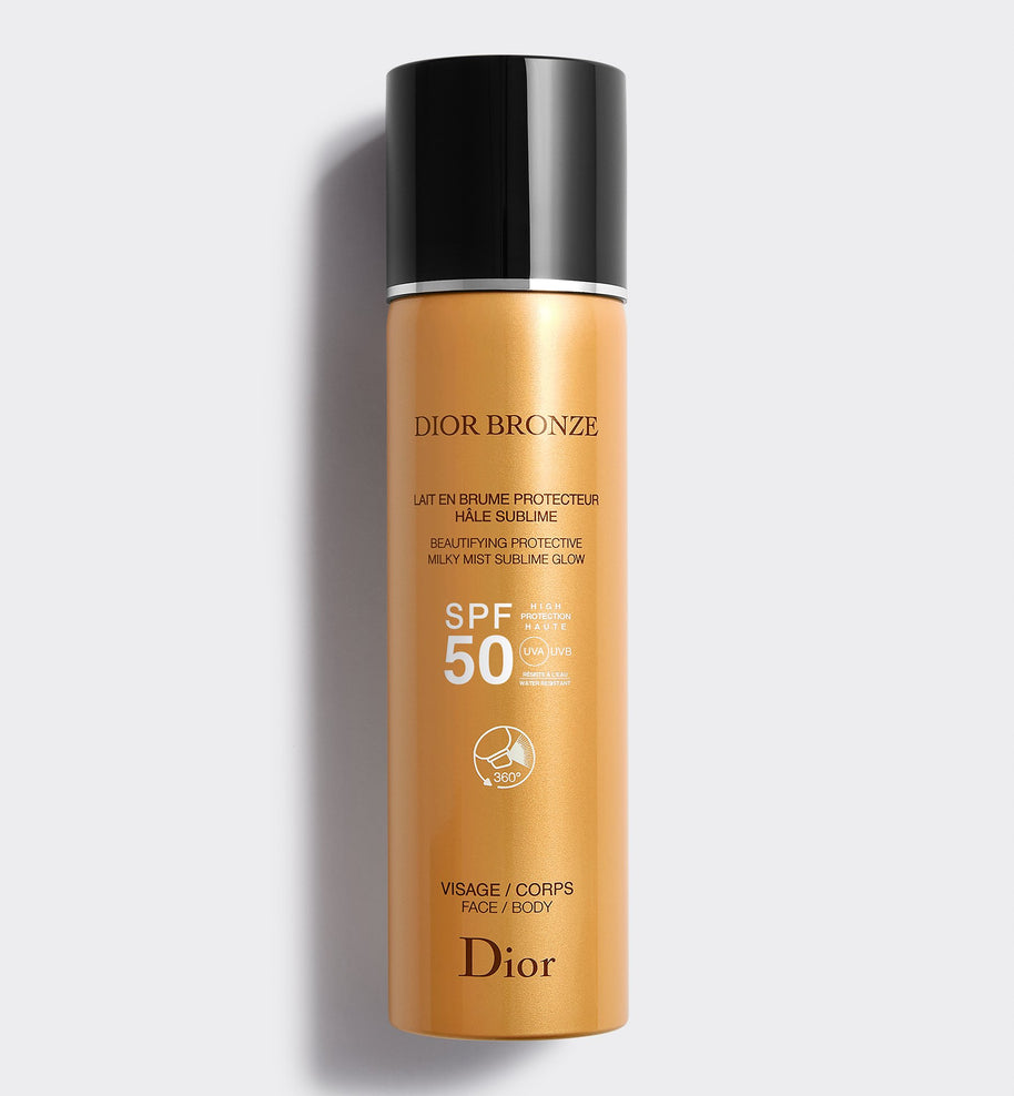 DIOR BRONZE BEAUTIFYING PROTECTIVE MILKY MIST SUBLIME GLOW SPF 50