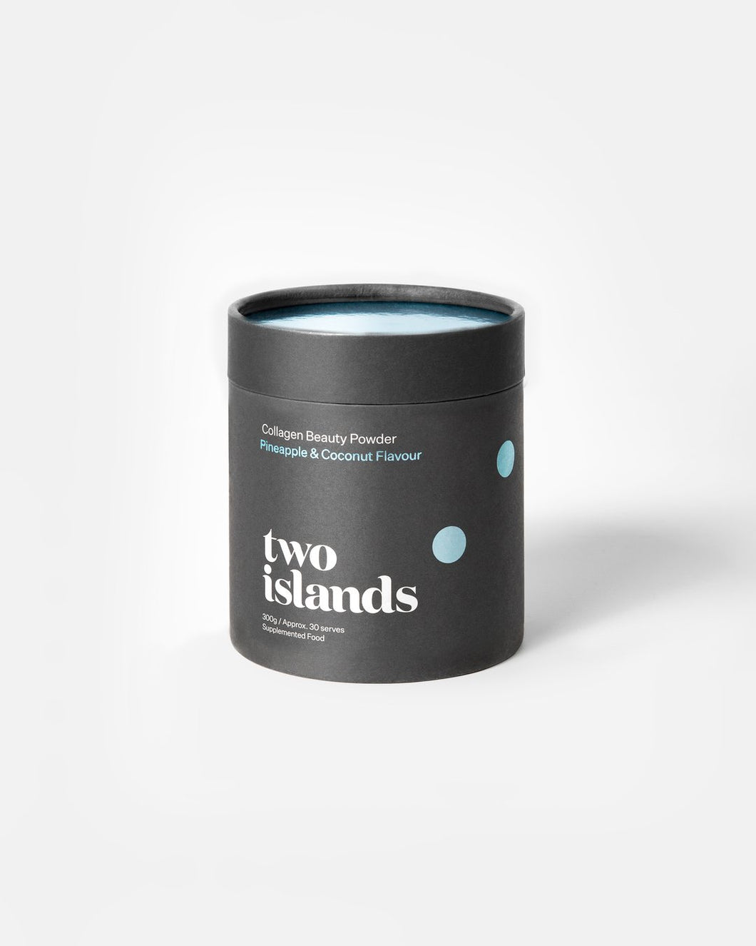 Two Islands Pineapple and Coconut Collagen Powder