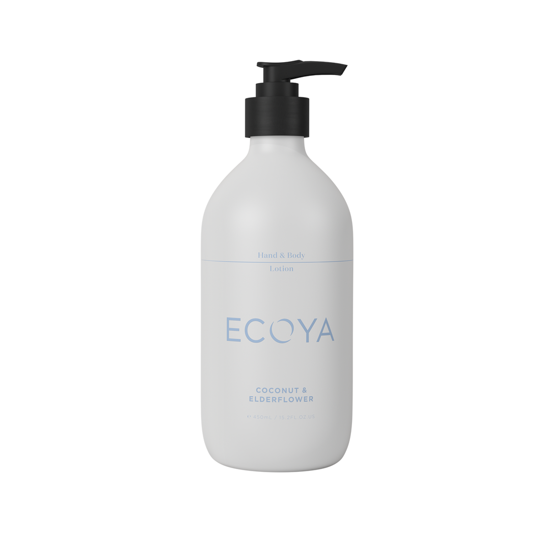 Ecoya Coconut & Elderflower Hand And Body Lotion 450ml